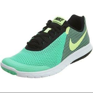 Nike Flex Experience RN 6 green running sneakers